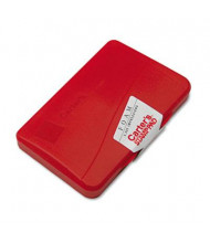 "Carter's Foam Stamp Pad, 4-1/4"" x 2-3/4"", Red Ink"