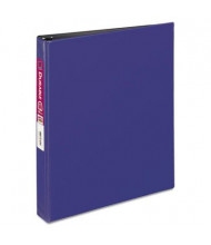 "Avery 1"" Capacity 8-1/2"" x 11"" Slant Ring Durable Non-View Binder, Blue"