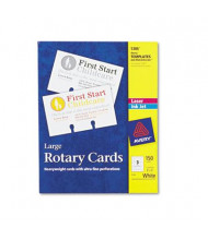 """Avery 5"""" x 3"""", Large Rotary Refill Card, 150-Cards"""