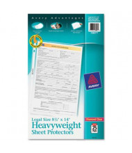 """Avery 8-1/2"""" x 14"""" Top-Load Heavy Gauge Poly Sheet Protectors, 25/Pack"""