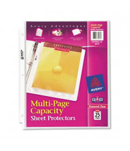 """Avery 8-1/2"""" x 11"""" Multi-Page Top-Load Heavy Gauge Sheet Protectors, 25/Pack"""
