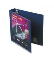 """Avery 1-1/2"""" Capacity 8-1/2"""" x 11"""" EZD Ring One Touch View Binder, Navy Blue"""