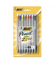 BIC Xtra Precision #2 0.5 mm Assorted Colors Plastic Mechanical Pencils, 24-Pack