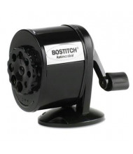 Stanley Bostitch Antimicrobial Mountable Manual Pencil Sharpener, Black