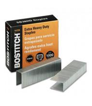"Stanley Bostitch 180-Sheet Capacity Staples for B380HD, 3/16"" Leg, 1000/Box"