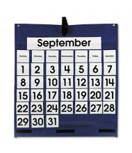 """Carson-Dellosa 25"""" x 28-1/2"""" 43-Pocket Monthly Calendar Chart with Day & Week Cards"""