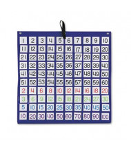 """Carson-Dellosa 26"""" x 26"""" 100-Pocket Chart with 1-100 Number Cards"""