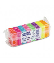 Chenille Kraft 1 oz Modeling Clay Assortment, Assorted Neon, 8/Pack