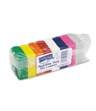 Chenille Kraft 1 oz Modeling Clay Assortment, Assorted Bright, 8/Pack