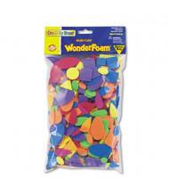 Chenille Kraft Wonderfoam Shapes, Assorted Shapes/Colors, 720 Pieces/Pack