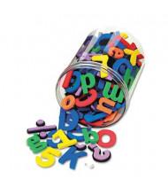 Chenille Kraft Wonderfoam Magnetic Alphabet Letters, Assorted Colors, 105/Pack