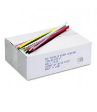 "Chenille Kraft Jumbo Pipe Cleaner Stems, 12"" x 6mm, Assorted, 1000/Box"