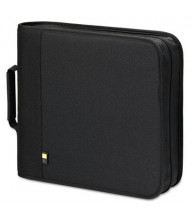 Case Logic 208-Capacity CD & DVD Expandable Binder, Black
