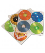 C-Line 25-Pack Two-Sided CD Storage Sleeves