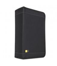 Case Logic 136-Capacity CD & DVD Nylon Wallet, Black