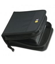 Case Logic 32-Capacity CD & DVD Nylon Wallet, Black