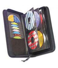 Case Logic 72-Capacity CD & DVD Nylon Wallet, Black