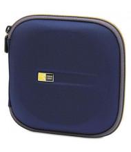 Case Logic 24-Capacity Molded CD Wallet, Blue