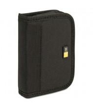 Case Logic 6-Capacity USB Drive Media Shuttle Case, Black