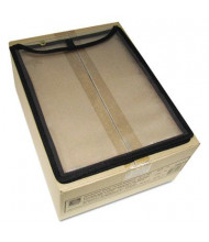 """C-Line 9"""" x 12"""" High-Capacity Clear Stitched Vinyl Shop Ticket Holder, 15/Box"""