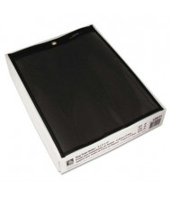 """C-Line 8-1/2"""" x 11"""" One Side Clear Stitched Shop Ticket Holder, 25/Box"""