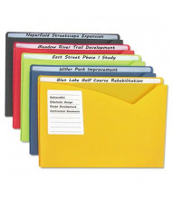 """C-Line Write-On 1"""" Expansion Letter Poly File Jackets, 25/Box"""