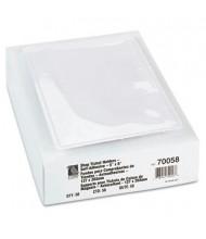 "C-Line 5"" x 8"" Self-Adhesive Poly Shop Ticket Holder, 50/Box"