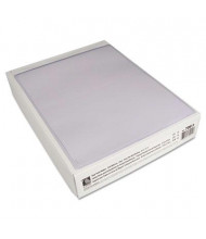 "C-Line 8-1/2"" x 11"" Self-Adhesive Poly Shop Ticket Holder, 50/Box"