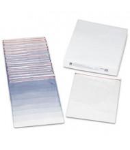 "C-Line 9"" x 12"" Industrial Zipper Seal Shop Clear Vinyl Ticket Holder, 15/Box"