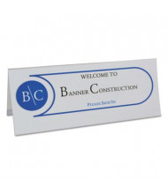"""C-Line 4"""" W x 11"""" H Tent Card Holder, 25-Pack"""