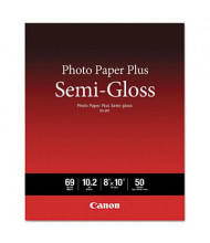 "Canon 8"" x 10"", 69lb, 50-Sheets, Semi-Gloss Photo Paper"
