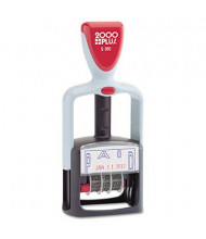 """2000 Plus """"Paid"""" Self-Inking Two-Color Word Dater, 1-3/4"""" x 1"""""""