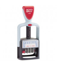 """2000 Plus """"Received"""" Self-Inking Two-Color Word Dater, 1-3/4"""" x 1"""""""