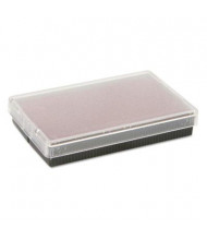 """Cosco Replacement Ink Pad for 2000 Plus, 1"""" x 2"""", Red Ink"""