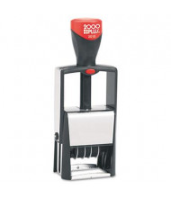 """2000 Plus Self-Inking Heavy Duty Stamp with Microban, Black Ink, 5/32"""" x 7/8"""""""
