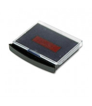 Cosco Replacement Ink Pad for 2000 Plus Two-Color Word Daters, Blue/Red Ink