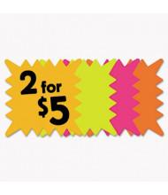 "Cosco 5.3"" W x 5.3"" H Square Die Cut Paper Signs 48-Pack"