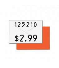 "Garvey 5/8"" x 13/16"" Two-Line Pricemarker Labels, White, 3000/Box"