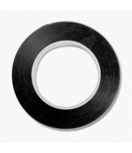 "Cosco 1/8"" x 9 yds Art Tape, Black Gloss"