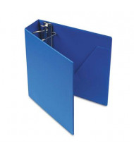 "Cardinal 3"" Capacity 8-1/2"" X 11"" SuperStrength Slant-D Non-View Binder, Blue"
