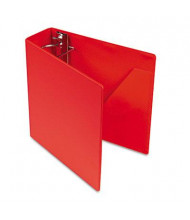 "Cardinal 3"" Capacity 8-1/2"" X 11"" SuperStrength Slant-D Non-View Binder, Red"