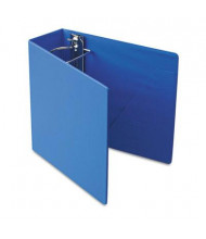 "Cardinal 4"" Capacity 8-1/2"" X 11"" SuperStrength Slant-D Non-View Binder, Blue"