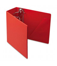 "Cardinal 5"" Capacity 8-1/2"" X 11"" SuperStrength Slant-D Non-View Binder, Red"