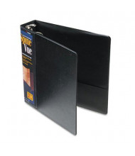 "Cardinal 2"" Capacity 8-1/2"" X 11"" SpineVue Locking Round Ring Binder, Black"