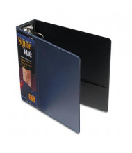 "Cardinal 3"" Capacity 8-1/2"" X 11"" SpineVue Locking Round Ring Binder, Navy"