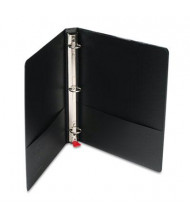 "Cardinal 1"" Capacity 8-1/2"" X 11"" EasyOpen Locking Non-View Binder with Label Holder, Black"