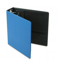 "Cardinal 3"" Capacity 8-1/2"" X 11"" EasyOpen Locking Non-View Binder with Label Holder, Medium Blue"