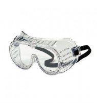 MCR Safety Crews Safety Goggles, Over Glasses with Clear Lens