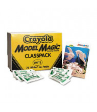 Crayola 1 oz Model Magic Modeling Compound, White, 75/Pack