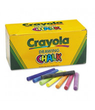"""Crayola Colored 3-3/16"""" Drawing Chalk, Assorted, 144-Sticks"""